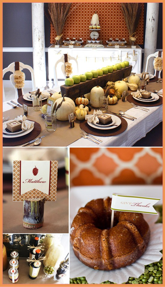Thanksgiving Table Scheme Jennifer Brouwer Interior Design