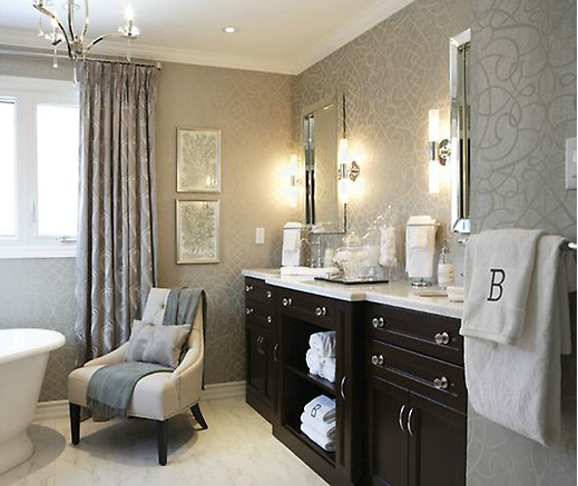 His And Hers Feminine And Masculine Bedrooms That Make A: Jennifer Brouwer Interior Design