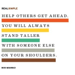 Help others get ahead