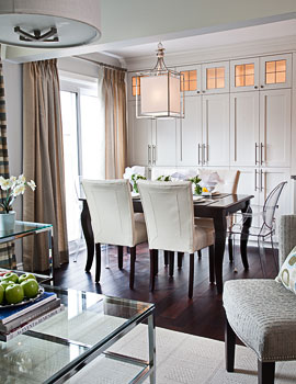Jennifer Brouwer Interior Design - Dining Room