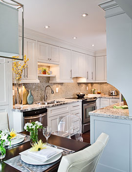 Jennifer Brouwer Interior Design - Kitchen