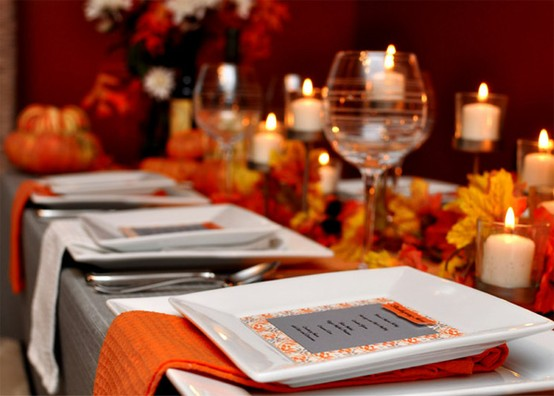 Lovely Simple Place Settings Fab